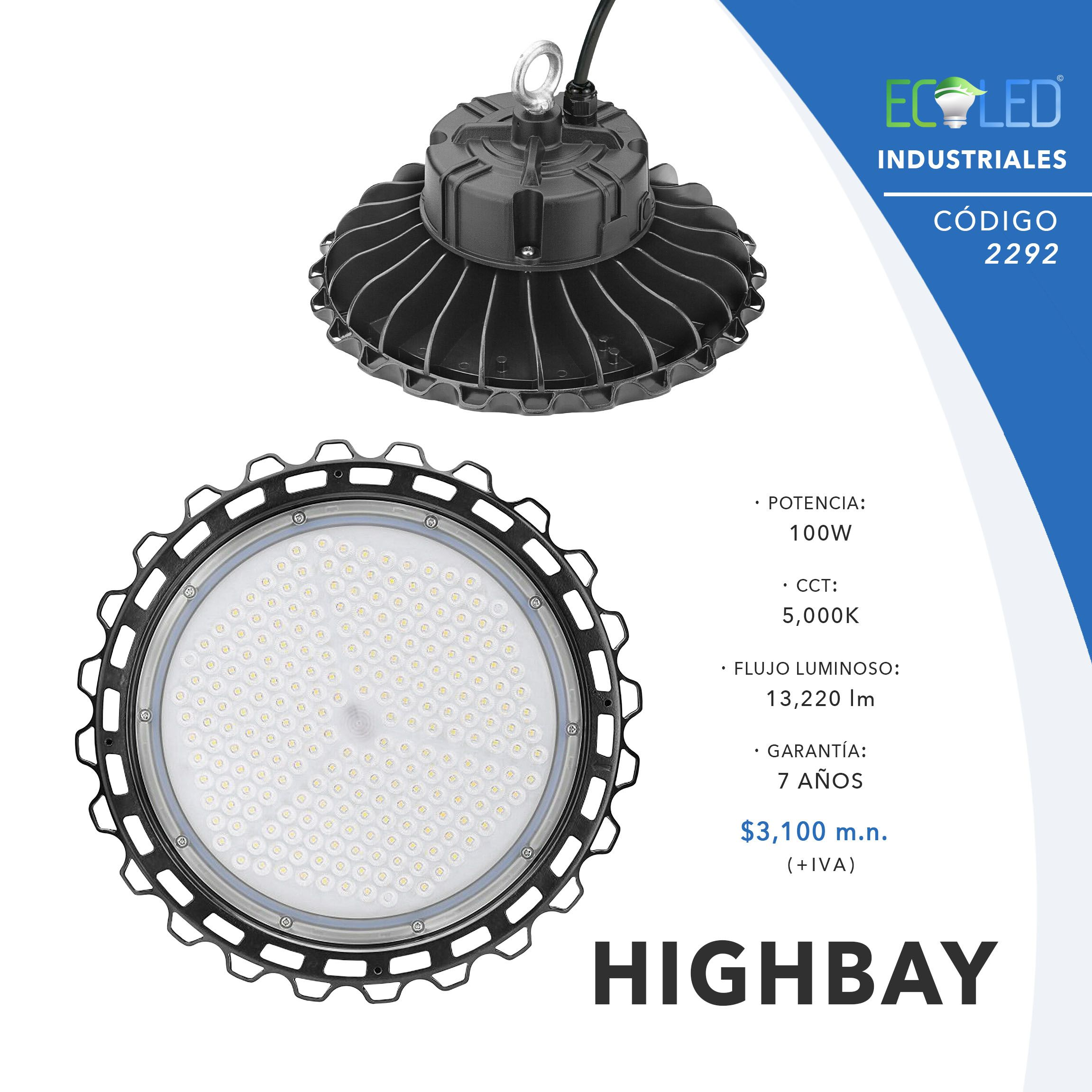 2292-UFO LED HIGHBAY-100W