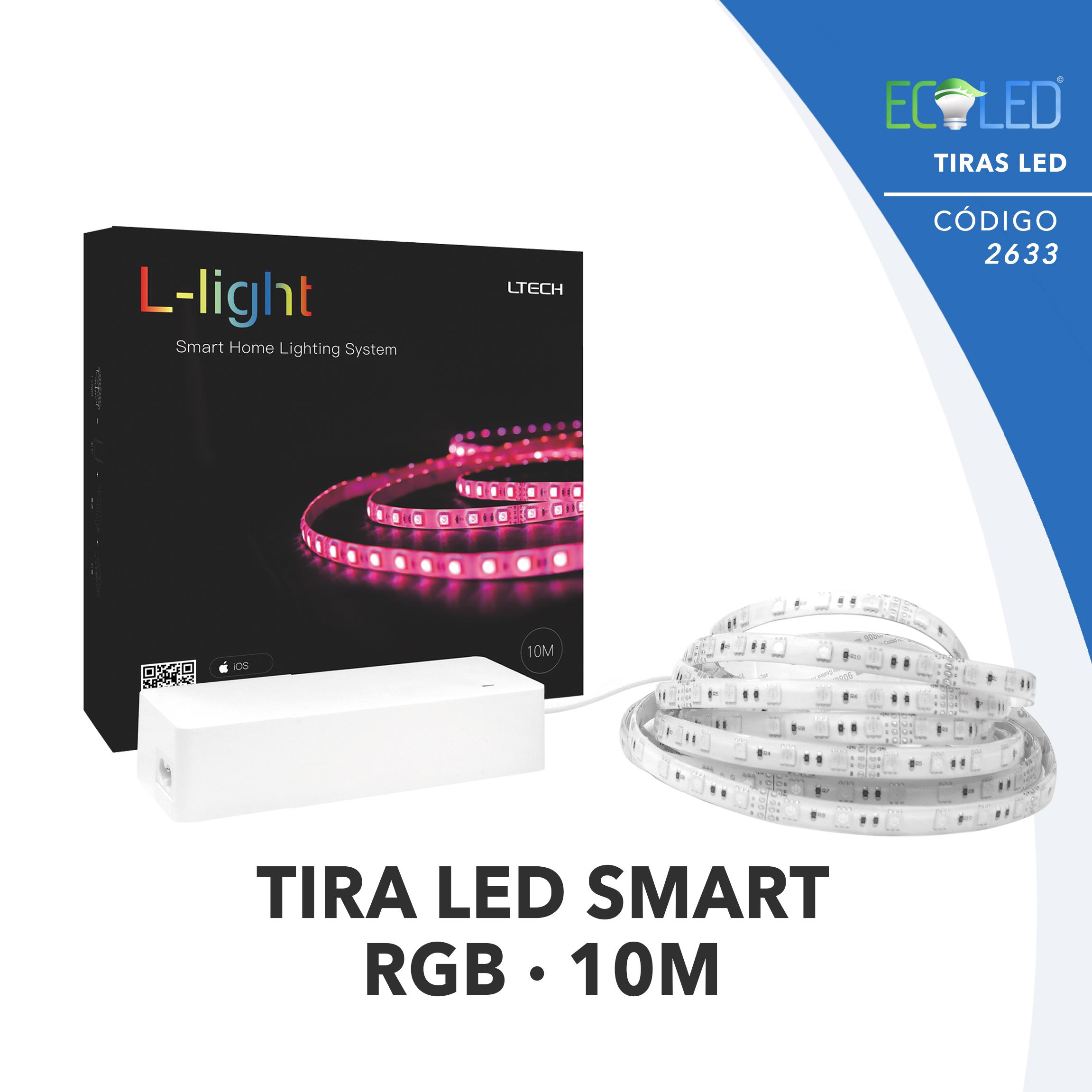 2633 · TIRA DE LED SMART RGB 70W · 10m