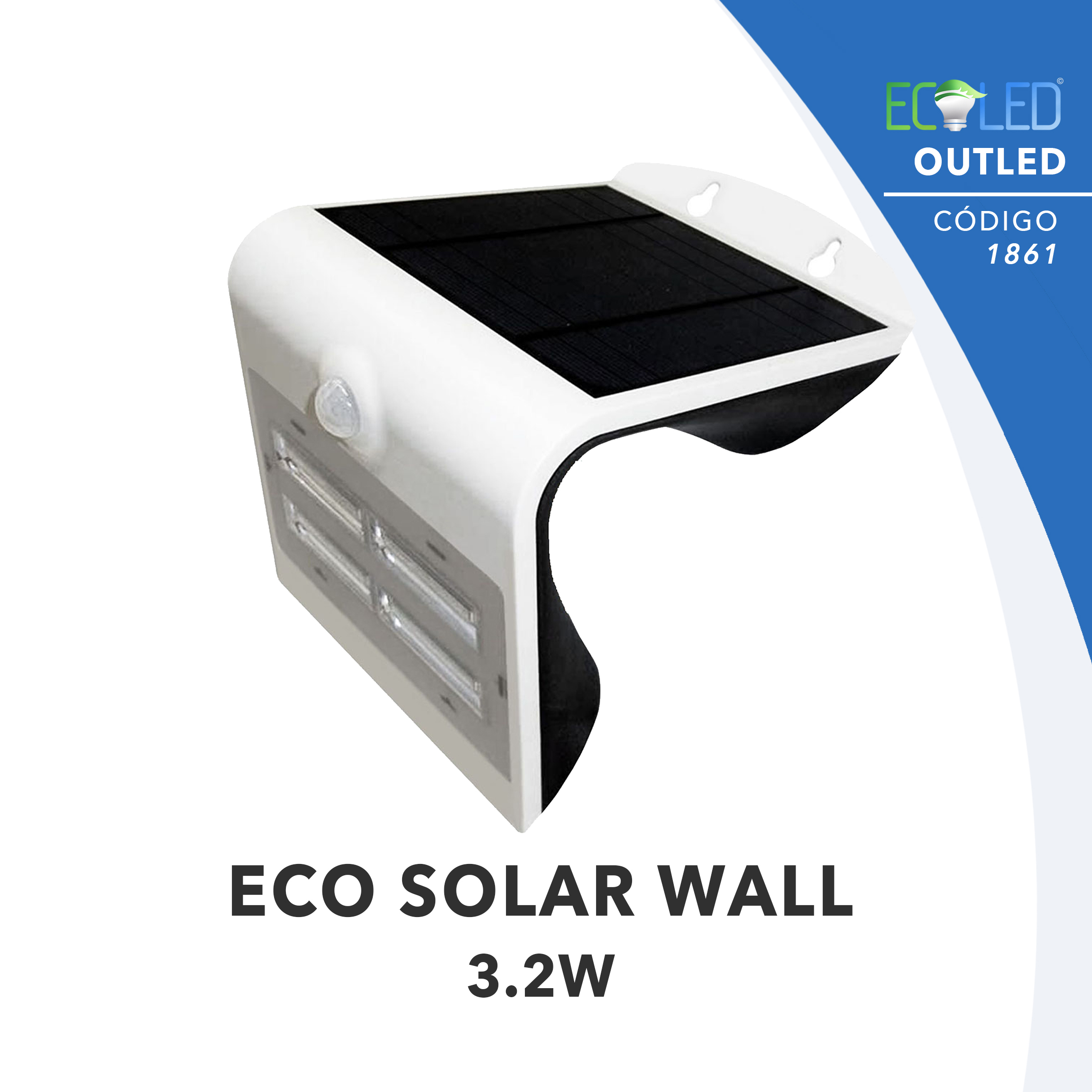 1861 · ECO SOLAR WALL-3.2W