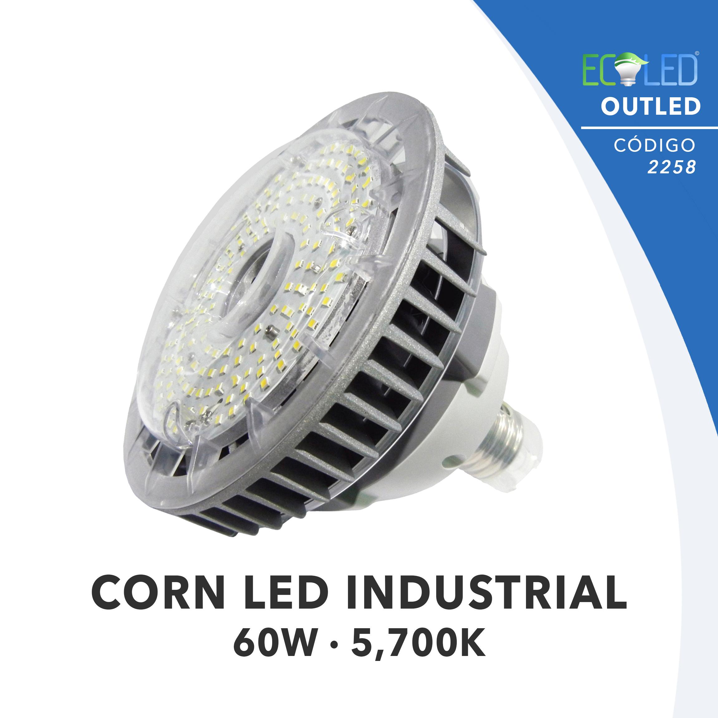 2258 · CORN LED INDUSTRIAL-60W-57K