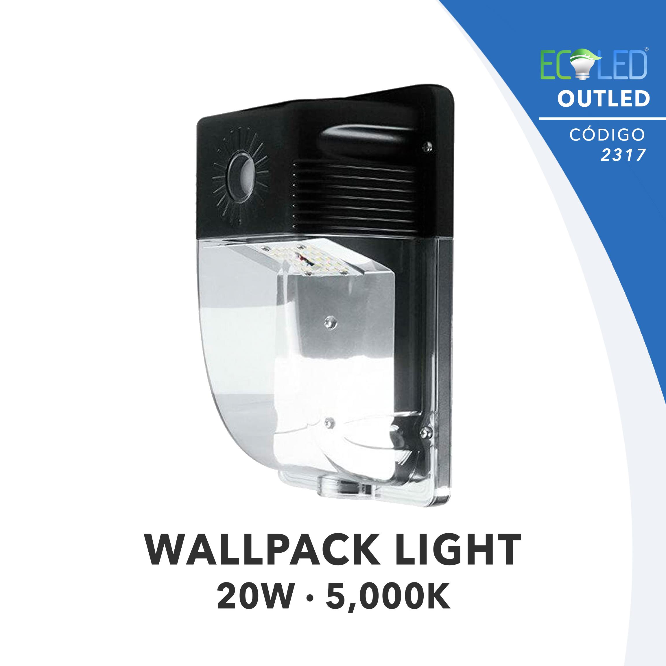 2317 · WALLPACK LIGHT · 20W